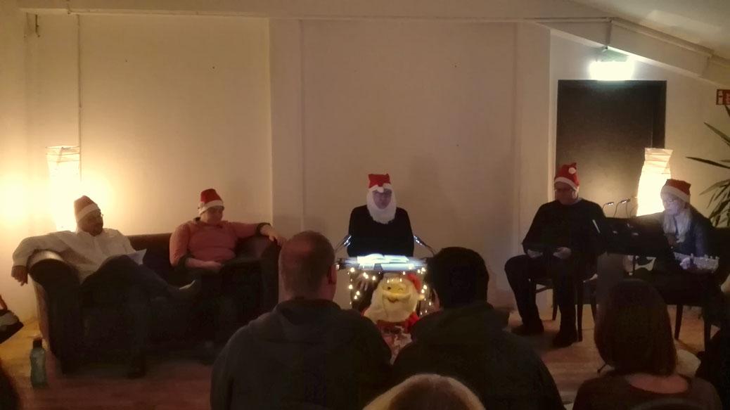 Impression Weihnachtslesung